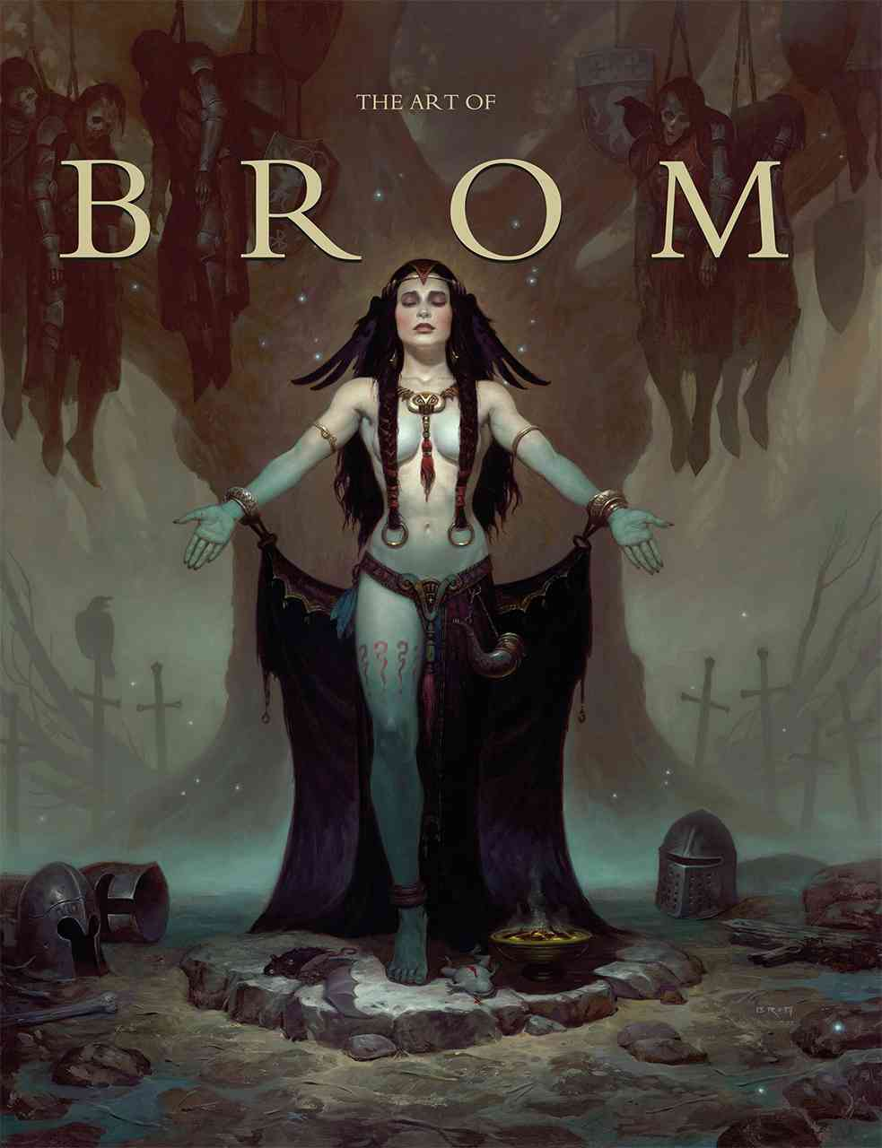 The Art of Brom By Brom/ Fenner, Arnie (INT)/ Fleskes, John (FRW)